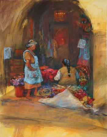 Flower Ladies of San Miguel